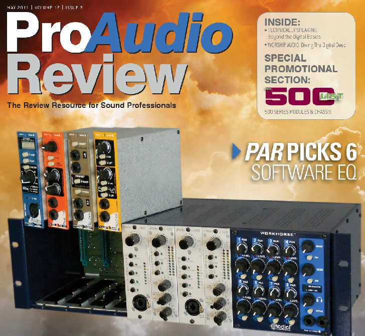 Pro Audio Review May 2011